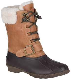 Sperry Saltwater Misty Shearling Duck Boot