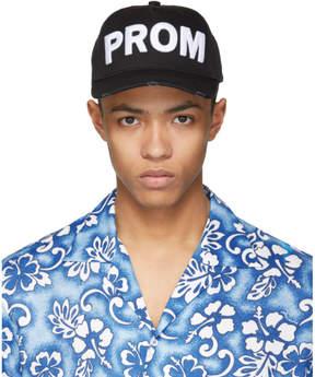 DSQUARED2 Black Prom Cap