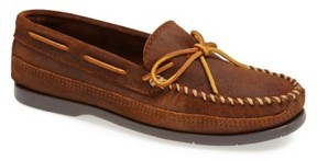 Minnetonka Men's Leather Moccasin