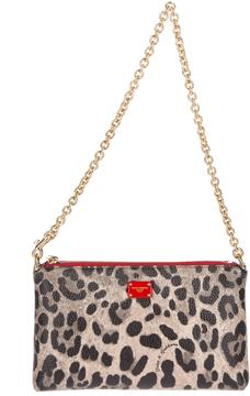 Dolce & Gabbana Mini Leo Clutch Bag - ONE COLOR - STYLE