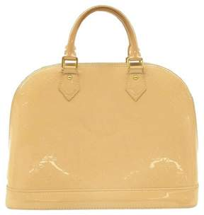 Louis Vuitton Alma patent leather satchel - OTHER - STYLE