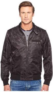 Members Only Iconic Jacquard Racer Jacket Men's Coat