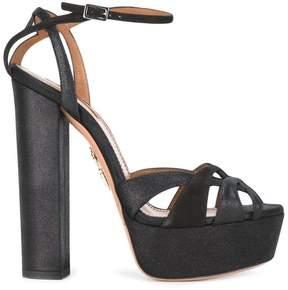 Aquazzura 'Luna' plateau sandals