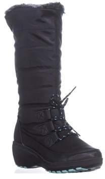 Khombu Ashton Cold Weather Tall Boots, Black.