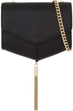 Sandro Lou tasselled leather clutch