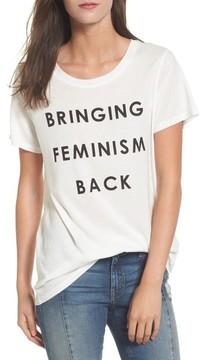 Daydreamer Women's Bringing Feminism Back Tee