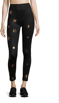 Electric Yoga Women's Dazzled Stars Leggings