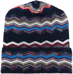 Missoni patterned beanie