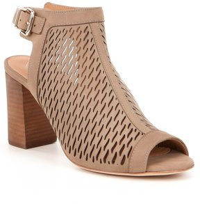 Antonio Melani Lyona Perforated Nubuck Sandals