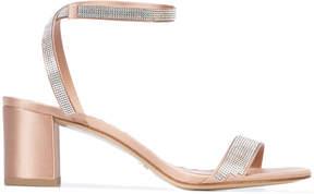 Pedro Garcia diamante detail strappy sandals