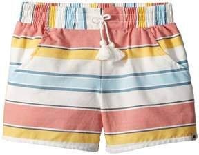Lucky Brand Kids Tia Stripe Shorts Girl's Shorts