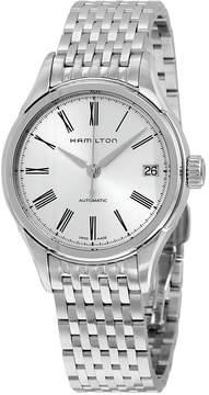 Hamilton Classic Jazzmaster Valiant White Dial Stainless Steel Ladies Watch