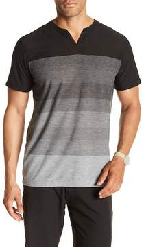 Burnside Stripe Knit Henley
