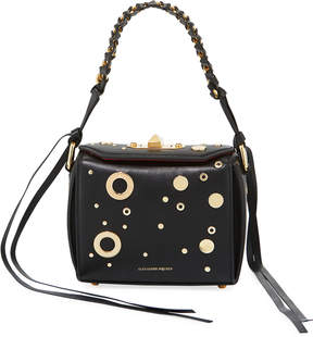 Alexander McQueen Box 16 Leather Bag with Hardware Detail