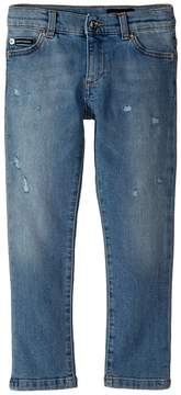 Dolce & Gabbana Five-Pocket Trousers Boy's Jeans