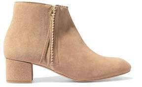 Maje Suede Ankle Boots