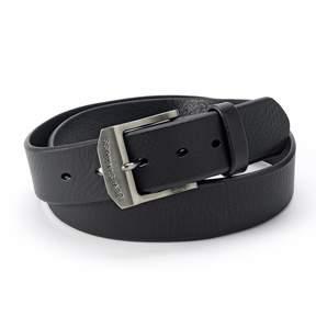 Levi's Levis Men's Logo Buckle Leather Belt