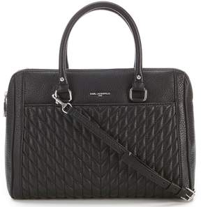 Karl Lagerfeld Paris Agyness Pebble Satchel