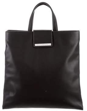 Bvlgari Leather Shopper Tote