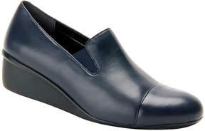 Ros Hommerson Navy Ellis Leather Loafer