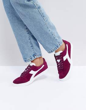 Diadora B.Original Sneakers In Burgundy