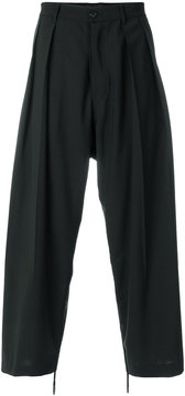 Diesel Black Gold slouched tailored trousers