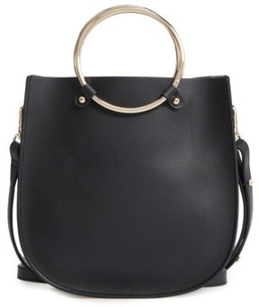 Bp. Metal Ring Crossbody Bag - Black
