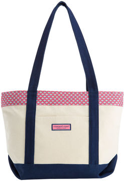 Vineyard Vines Permit and Bubbles Printed Classic Tote