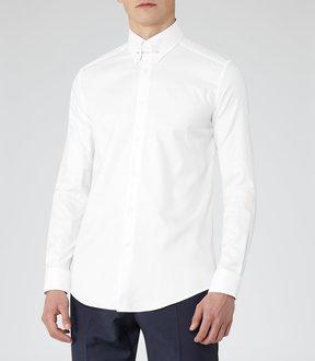 Reiss Jordan Collar Bar Shirt