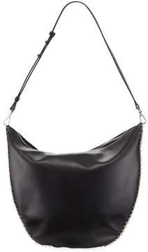 Paco Rabanne Iconic Leather Hobo Bag