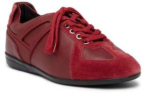 Versace Collection Leather & Suede Sneaker