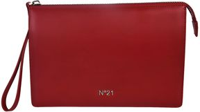 N 21 Logo Plaque Clutch