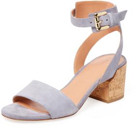 Sigerson Morrison Women's Riva 2 Suede Sandal