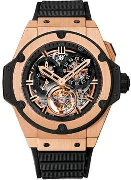 Hublot Big Bang King Power Skeleton Dial 18K King Gold Men's Watch