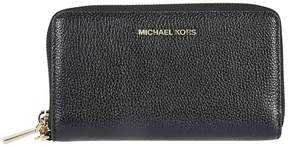 Michael Kors Mercer Zip Around Wallet - NERO/ORO - STYLE