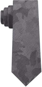 DKNY Men's Camo Florals Slim Tie