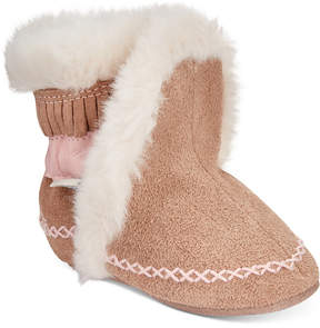 Robeez Baby Fab Folk Booties, Baby Girls (0-4)