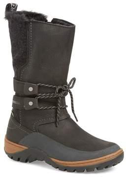 Merrell Sylva Waterproof Faux Fur Tall Boot