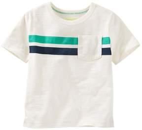 Osh Kosh Boys 4-8 Double Striped Tee