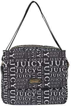 Juicy Couture Black and White Logo Novelle Bag