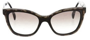 Prada Tortoiseshell Cat-Eye Sunglasses