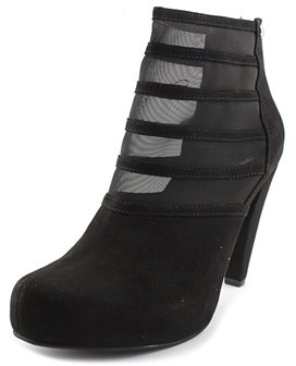 G by Guess Talza Round Toe Suede Bootie.