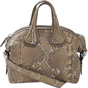 GIVENCHY Python Small Nightingale Bag