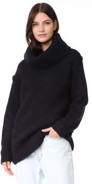 Acne Studios Ashia Alpaca Turtleneck Sweater