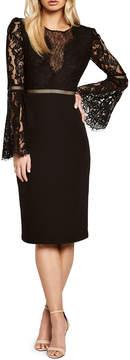 Bardot Faedra Lace Illusion Dress