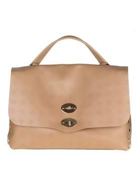Zanellato Postina M astro In Leather Color Walnut