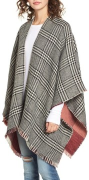 BP Women's Reversible Plaid Wrap
