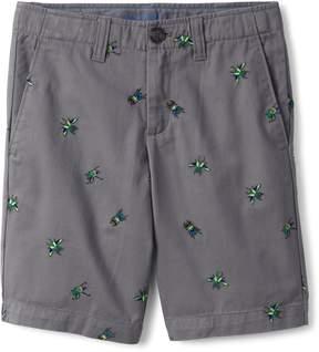 Lands' End Lands'end Boys Pattern Cadet Shorts
