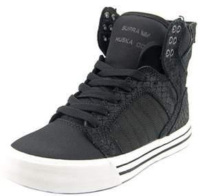 Supra Skytop Round Toe Synthetic Skate Shoe.