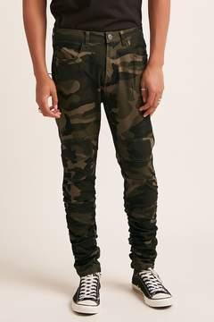 21men 21 MEN Waimea Camo Ruched Jeans